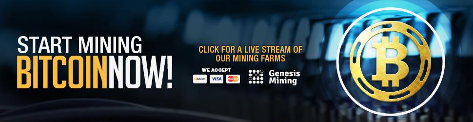 Taženie bitcoinov Genesis Mining